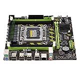 Tuneway Placa Base para Pc Computadora de Escritorio X79 Lga 2011 de Doble Canal 4Xddr3 Dimm hasta 64 GB de Memoria Sata 3.0 Pci-E 8Usb para Core I7 Xeon E5