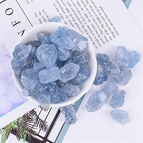 MAXIAOTONG Árbol de aromaterapia de Cristal Natural Sin Fuego Aromatherapy Expansión Difusor Energía Energía Ambientador de Aire (Color : Azul, Size : 1-2cm 100g)