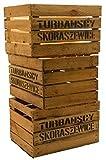3er Set Massive Obstkiste Apfelkiste Weinkiste aus dem Alten Land 49 x 42 x 31 cm (GEBRAUCHT MIT...