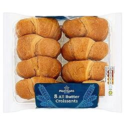 Morrisons All Butter Croissants, 8 Pack