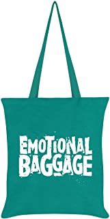 Emotional Baggage Tote Bag Emerald Green 38 x 42cm
