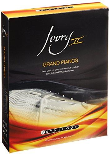 【正規輸入品】SynthogyIvoryIIGrandPianosピアノ音源スタインウェイベーゼンドルファーヤマハ