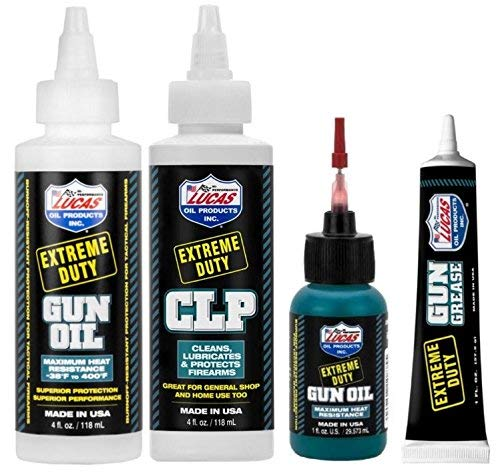 Lucas Extreme Duty 4oz Gun Oil 10877, 4oz CLP 10915, 1oz...
