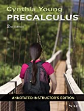Cynthia Young Precalculus 2nd Edition ANNOTATED INSTRUCTOR'S EDITION
