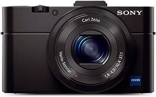 Sony Cyber-Shot DSC-RX100M2 - Cámara compacta de 20.2 MP (Pantalla de 3 Zoom óptico 3.6X estabilizador óptico vídeo Full HD WiFi) Negro