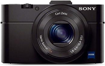 Sony RX100 II 20.2 MP Premium Compact Digital Camera w/ 1-inch Sensor, MI (Multi-Interface) Shoe and tilt LCD Screen (DSCRX100M2/B)