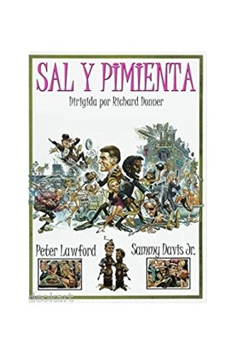 SALT AND PEPPER (Region 2 import) Sammy Davis Jr., Peter Lawford [DVD]