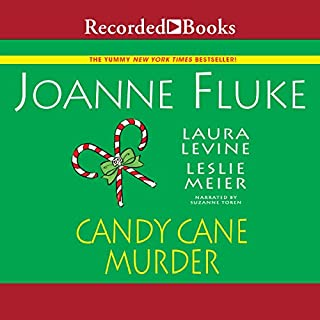 Candy Cane Murder                   By:                                                                                                                                 Joanne Fluke,                                                                                        Leslie Meier,                                                                                        Laura Levine                               Narrated by:                                                                                                                                 Suzanne Toren                      Length: 11 hrs and 27 mins     Not rated yet     Overall 0.0