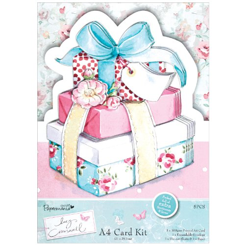 docrafts Papermania Lucy Cromwell A4 kit Carte