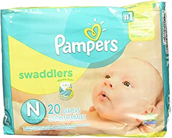 Pampers Swaddlers Newborn 240 Diapers  12 packs of 20