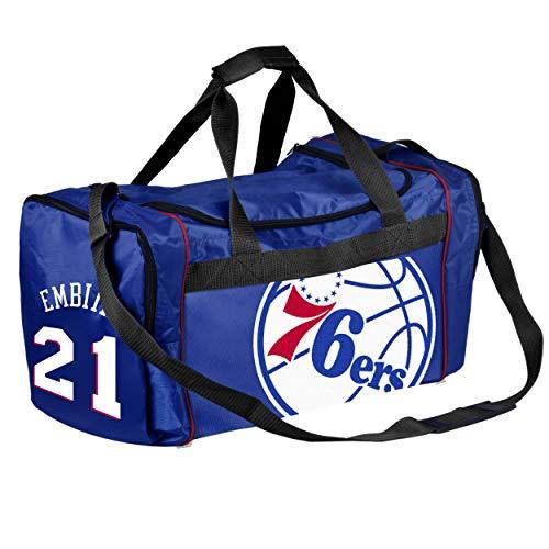 FOCO NBA Philadelphia 76Ers Joel Embiid #21 Core Duffle, FOCO NBA Philadelphia 76Ers