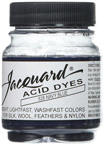 Jacquard Acid Dyes .5oz-Navy Blue