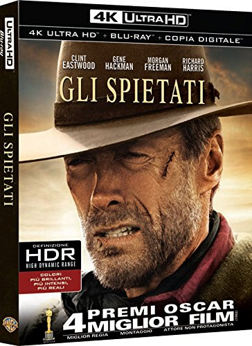 Gli Spietati  (Blu-Ray 4K Ultra HD+Blu-Ray) [Blu-ray]