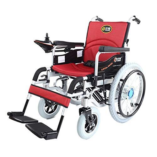 Muyu Elektrische rolstoel, opvouwbaar en gemakkelijk aangedreven rolstoel, intelligente automatische rolstoel voor ouderwetse uitschakeling