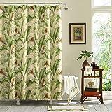 Tommy Bahama Palmiers, Shower Curtain, Medium Green