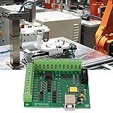 Tarjeta controladora CNC, placa de tarjeta controladora Mach3 200KHz para máquina de grabado CNC de servomotor USB de 4 ejes