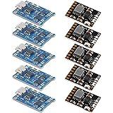 Runtodo 10 unids 18650 módulo de carga de batería de litio TP4056 con batería 2A 5V módulo de descarga de carga
