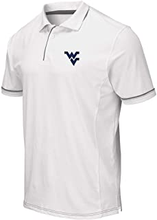 Mens WVU West Virginia Mountaineers Iceland Polo Shirt