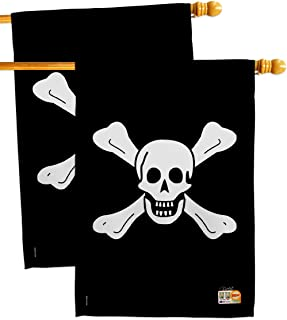 Breeze Decor HP107038-BOAE Richard Worley Coastal Pirate Impressions Decorative Vertical 28