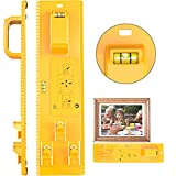 Picture Hanging Tool with Level Photo Frame Hanger Leveler Tools Picture Frame Ruler for Marking Position Easy...