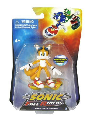 Sonic Free Riders-Miles Tails Prower Action Figure by