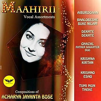Maahirii Vocal Assortments