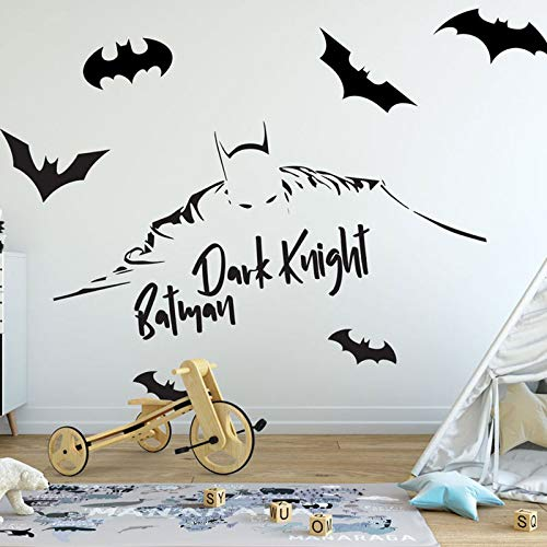 zhuziji Mutter Tochter Wandaufkleber Jungen Arkham Knight Series Cartoon S Vinyl Removable Waterproof Family Child. Selbstklebendes Wohnzimmer. Schlafzimmer162x63cm