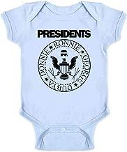 Republican Presidents GOP Rock Band Graphic Parody Infant Bodysuit