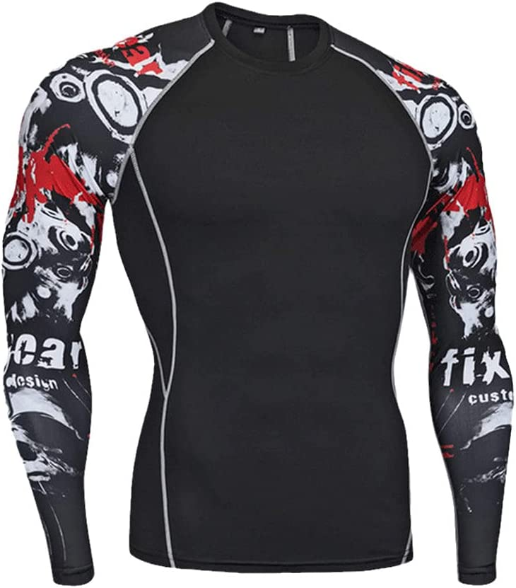 Thermal Men Underwear Sets Compression Fleece Sweat Quick Drying Thermal Men Clothing