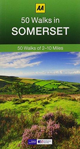 50 Walks in Somerset (AA 50 Walks series): 50 Walks of 2-10 Miles