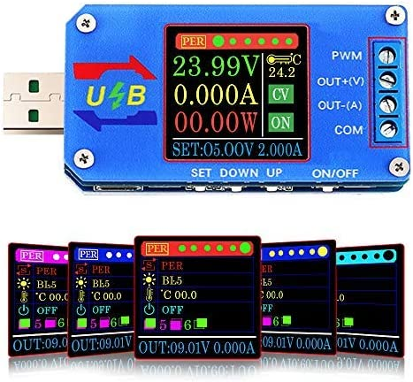 Buck Boost Power Supply Module Tester Voltmeter Limited time cheap sale USB 5V Multi-Fun Ranking TOP9