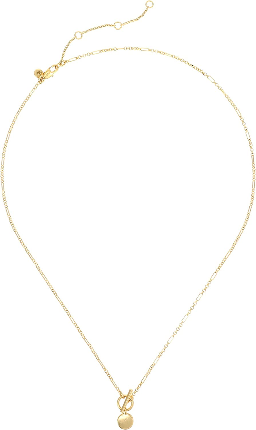 Madewell Lariat Necklace Vintage Gold One Size