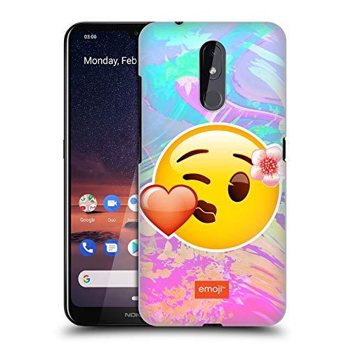 Officiële emoji® Kus Solo's Hard Back Case Compatibel voor Nokia 3.2