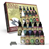 The Army Painter | Metallic Colours Paint Set | 10 Acrylic Paints for Collectors in Wargames Miniature Model Painting