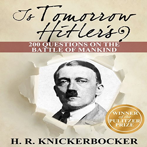 Is Tomorrow Hitler's? audiobook cover art