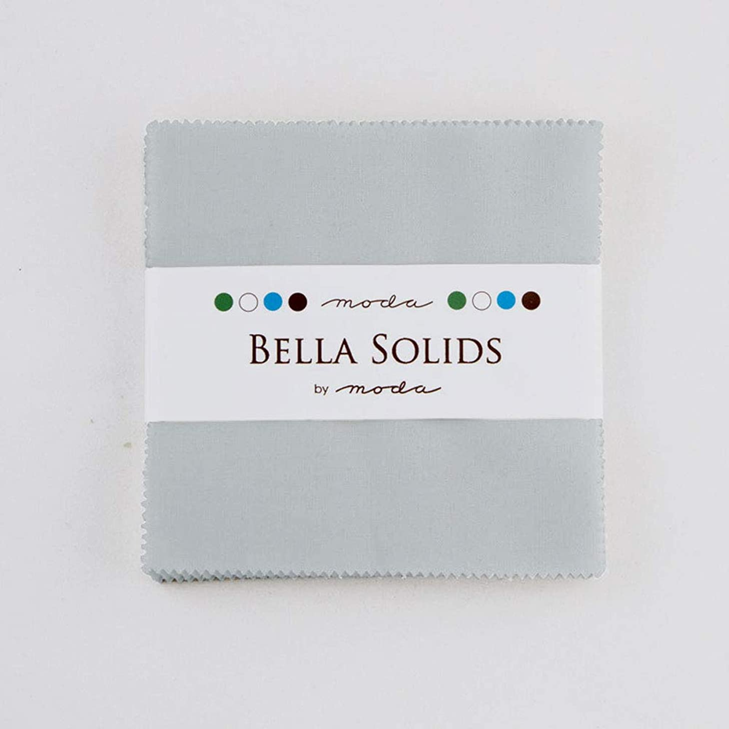 Bella Solids Zen Grey Charm Pack 42 Squares 5