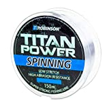 Robinson Titan Power Spinning - Hilo de pesca (150 m, diámetro 0,155 mm, diámetro 0,330 mm, diámetro 0,175 mm, capacidad de carga 6,0 kg)