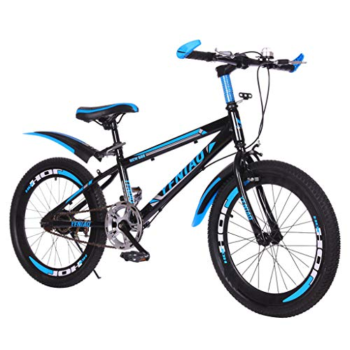 SHUANGA 22 Zoll leichtes, nicht faltbares Mini-Fahrrad Kleines tragbares Fahrrad Erwachsener Student 22-Zoll-Mountainbike 7-Gang-Bremse Single-Speed-Bare-Car