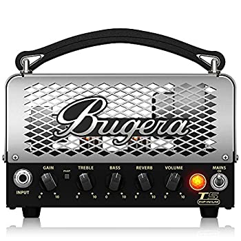 BUGERA T5 5-Watt Cage-Style Amplifier Head with Infinium Tube Life Multiplier and Reverb Multi Colored  T5INFINIUM