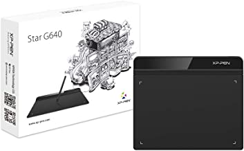 Graphics Drawing Tablet G640 Sketch Digital Tablet 6 x 4 Inch Graphics Tablet with Passive Pen for Painting and Online Edu...