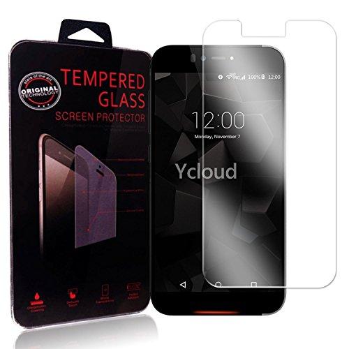 Ycloud Panzerglas Folie Schutzfolie Bildschirmschutzfolie für UMI Iron / Iron Pro screen protector mit Festigkeitgrad 9H, 0,26mm Ultra-Dünn, Abger&ete Kanten