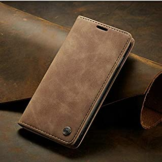 ClickCase™ for LG Google Nexus 5, Sheepskin Series Faux Soft Leather Wallet Flip Case Kick Stand with Magnetic Closure Lightweight Slim Flip Cover for LG Google Nexus 5 (Beige Brown)