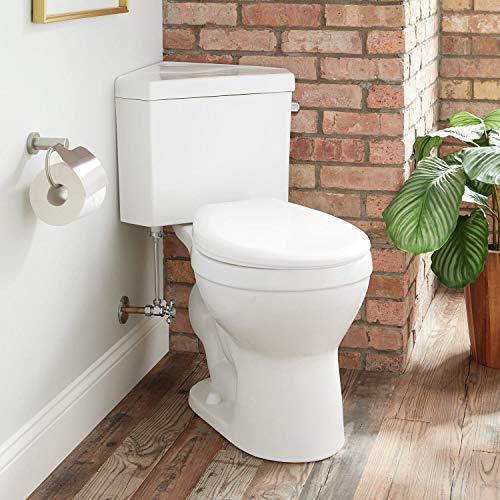 Signature Hardware 443130 Braeburn 1.28 GPF Two Piece Round Chair Height Toilet - Standard Seat...