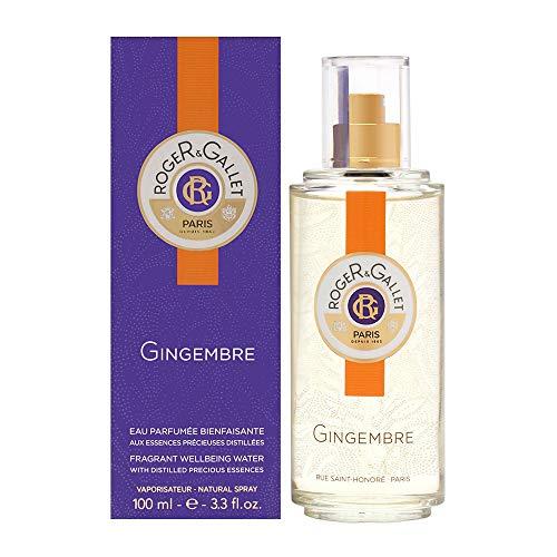 Roger & Gallet Gingembre Eau Parfumée Bienfaisante Vapo 100 ml 100 g