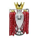 Trofeo de fútbol de resina ZXPAG trofeo de la Liga de Campeones trofeo de la Copa de Europa suministros -, 32 cm