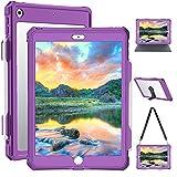 10.2 Inch iPad Case - Purple iPad...