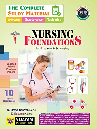 The Complete Study Material of NURSING FOUNDATIONS For First Year B.Sc Nursing
