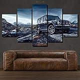 45Tdfc Bilder Mercedes G Klasse Schwarz Luxusauto Poster