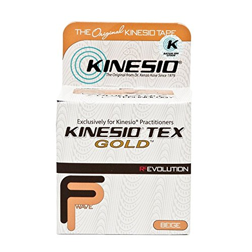 Kinesio Taping - Kinesiology Tape Tex Gold FP - Beige – 1in x 5m...