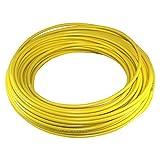 Cyclingcolors - Funda de freno para bicicleta (5 mm, cable universal para bicicleta de montaña, carretera, ciudad, inserto rendimiento, 3 m), color amarillo